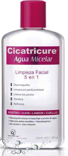 Cicatricure Agua Micelar