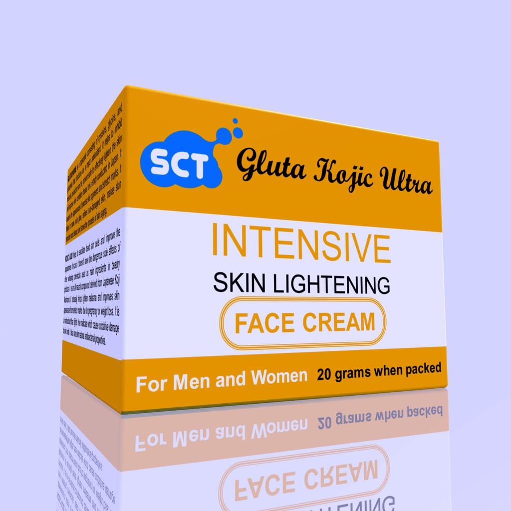 SCT Gluta Kojic Ultra Intensive Skin Lightening Face Cream