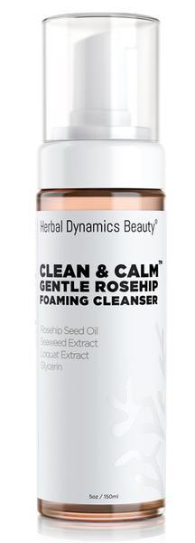 herbal dynamic Clean&Calm Gentle Rosehip Foaming Cleanser