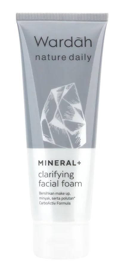 Wardah Mineral Clarifying Facial Foam