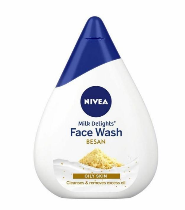 Nivea Milk Delights Face Wash Besan -For Oily Skin