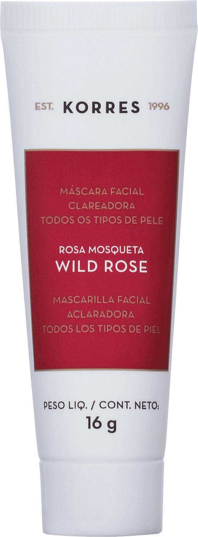Korres Máscara Facial Clareadora Korres Wild Rose