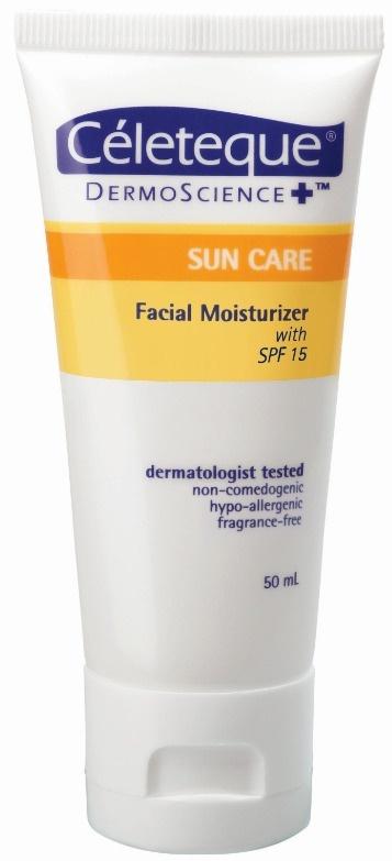 Céleteque Dermoscience Suncare Facial Moisturizer With Spf 15