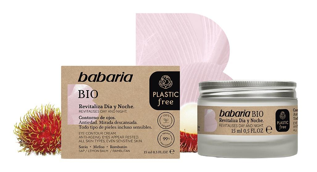 Babaria Bio Revitalises Day And Night Eye Cream