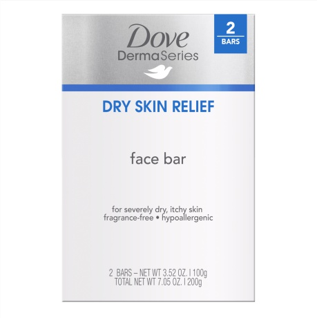 Dove Derma Series Dry Skin Relief Face Bar