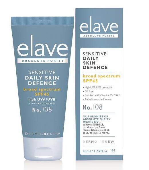 Elave Sensitive Daily Skin Defence Spf45
