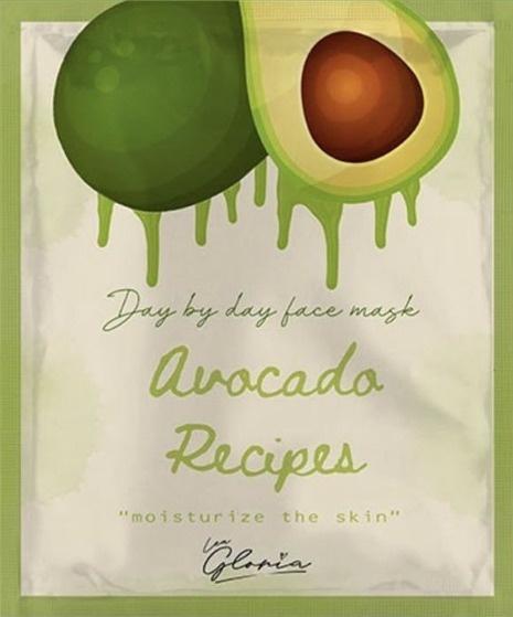 LEA  GLORIA Avocado Recipes Face Mask
