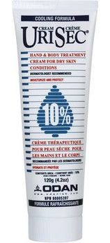 Urisec 10% Urea Cream Hand & Body Treatment Cream For Dry Skin Conditions