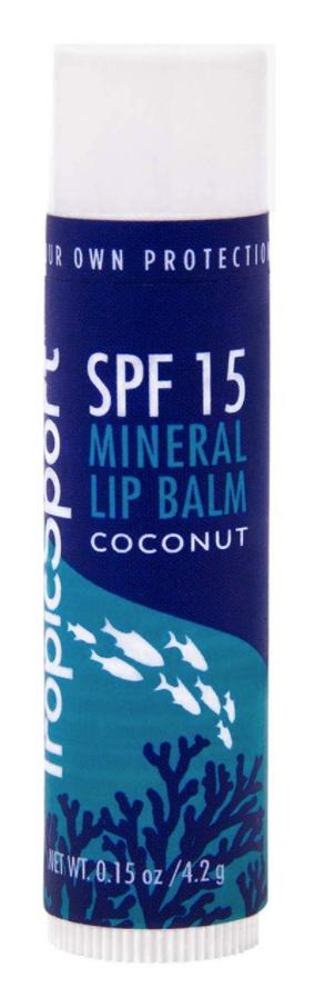 TropicSport Mineral Lip Balm Coconut