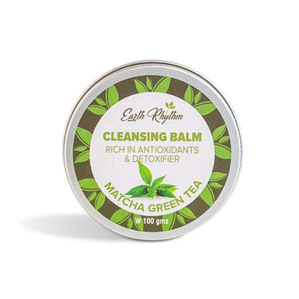 Earth Rhythm Cleansing Balm  (Matcha Green Tea)