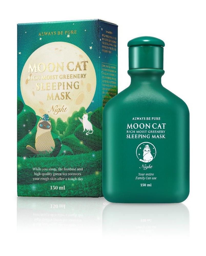 Always be pure Mooncat Rich Moist Greenery Sleeping Mask