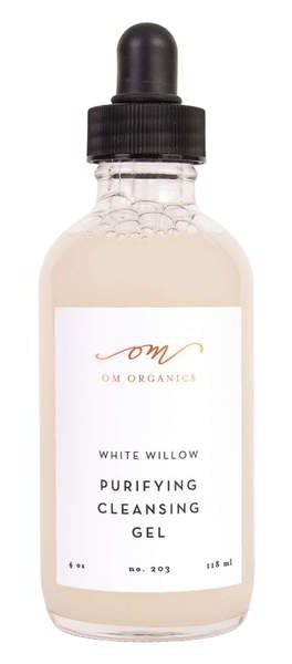 Om Organics White Willow Purifying Cleansing Gel