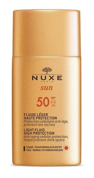 Nuxe Light Fluid High Protection SPF 50