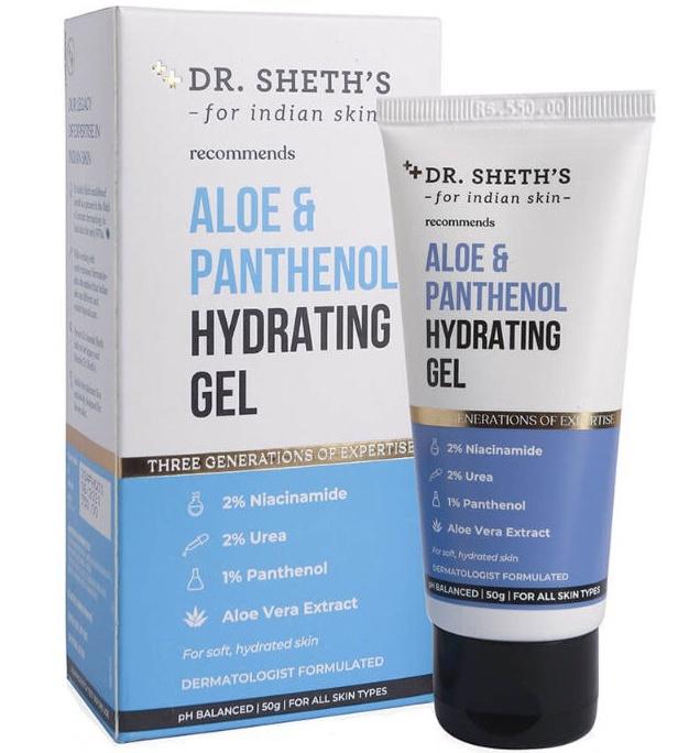 Dr. Sheth's Aloe And Panthenol Hydrating Gel