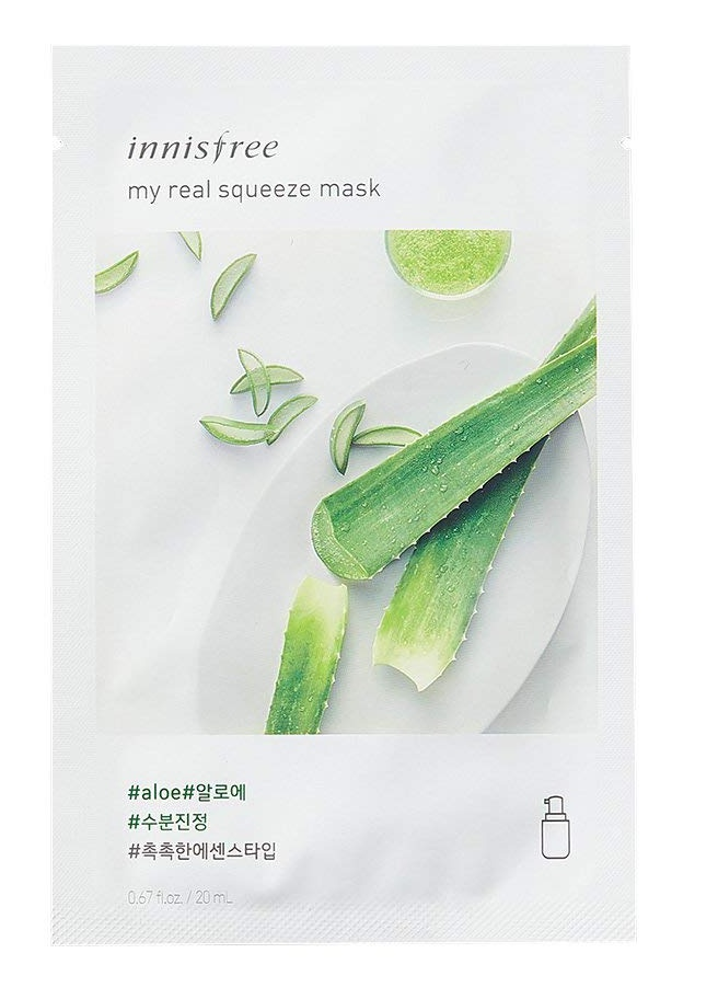 innisfree My Real Squeeze Mask Aloevera