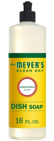 Mrs. Meyer's Mrs. Meyers Clean Day Liquid Dishwashing Soap - Honeysuckle,