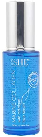 om SHE Aromatherapy Marine Collagen With Red Algae Face Serum
