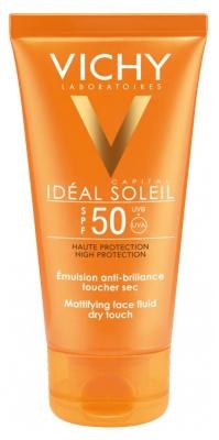 Vichy Protection Idéal Soleil Mattifying Sun Fluid For Face Spf 50