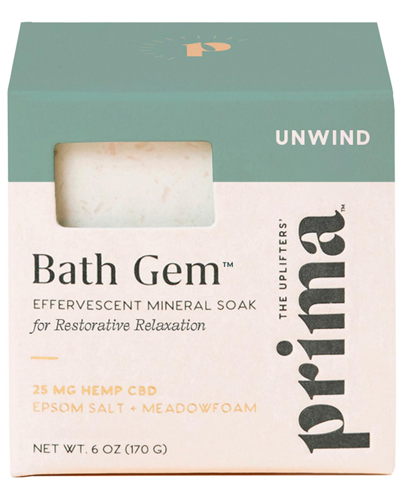 Prima Bath Gem Effervescent Mineral Soak