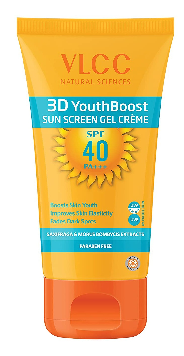 VLCC 3D Youth Boost Sunscreen Gel Creme Spf40 Pa +++