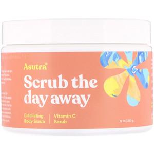 asutra Scrub The Day Away Exfoliating Vitamin C Body Scrub