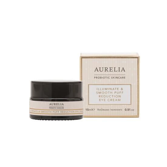 Aurelia Probiotic Skincare Illuminate & Smooth Puff Reduction Eye Cream