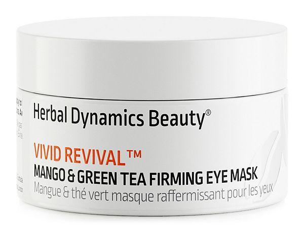 Herbal Dynamics Beauty Vivid Revival Mango & Green Tea Firming Gel Mask