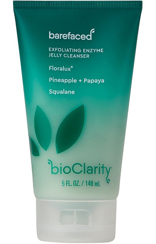 Bioclarity Barefaced Exfoliating Enzyme Jelly Cleanser