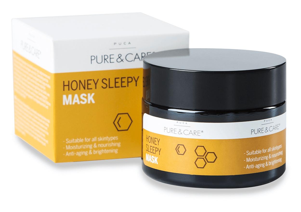 Puca Pure & Care Honey Sleepy Mask