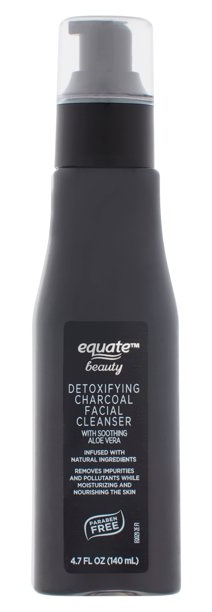 Equate Beauty Detoxifying Charcoal Facial Cleanser