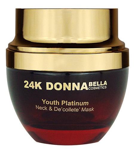 24K Donna Bella Youth Platinum Neck And Decollete Mask