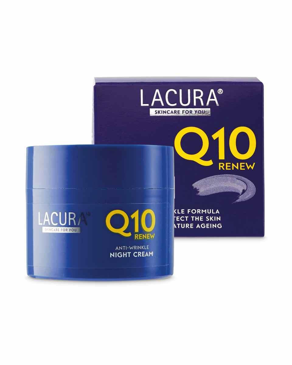 LACURA Anti-wrinkle Night Cream Q10 Renew