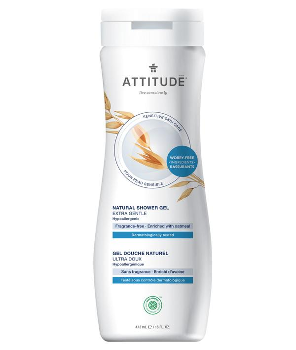Attitude Extra Gentle Fragrance-Free Shower Gel