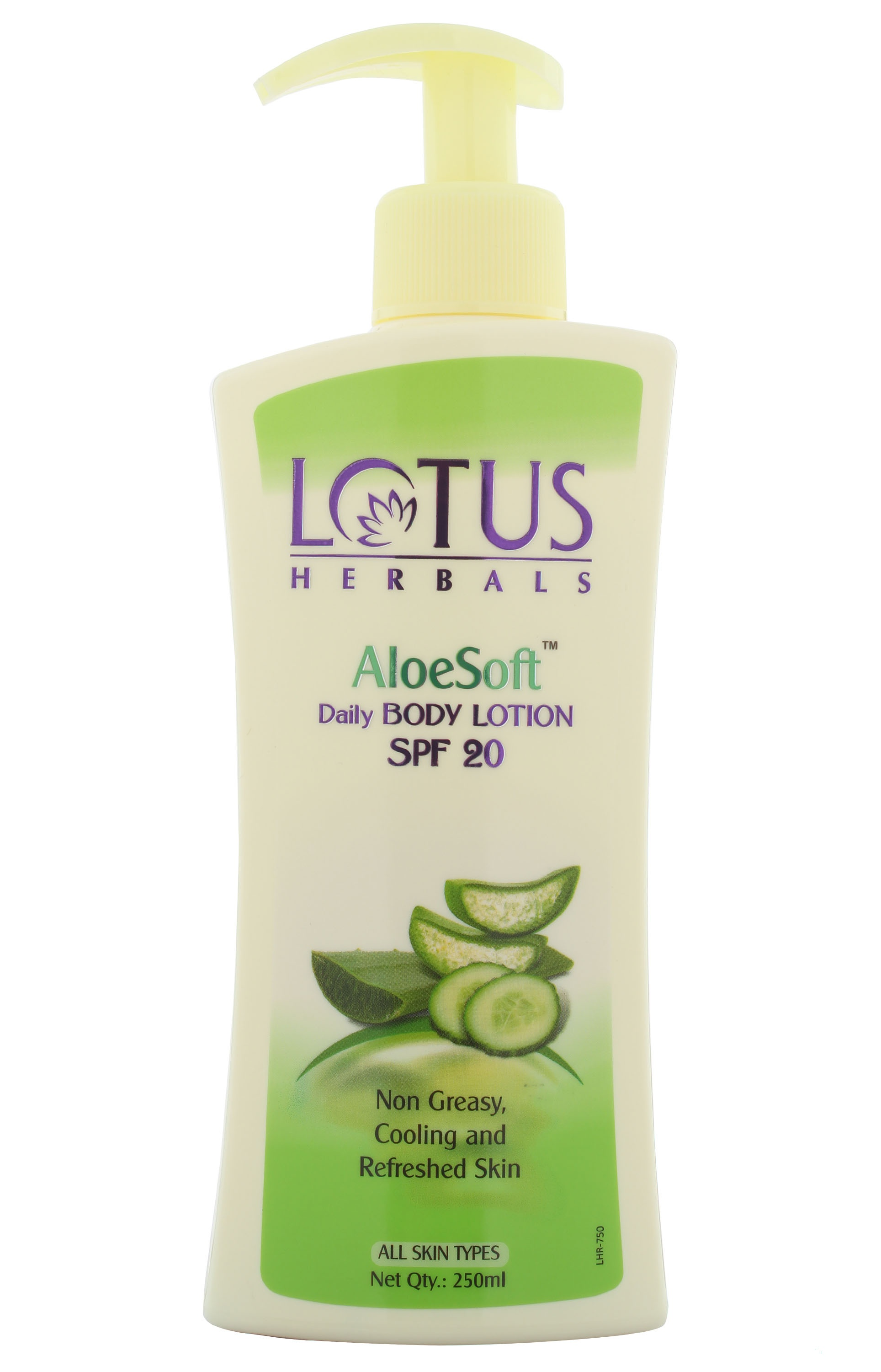 Lotus Herbals Aloesoft Daily Body Lotion Spf 20