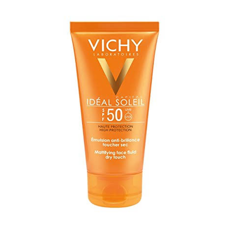 Vichy Ideal Soleil Mattifying Face Fluid Dry Touch Spf 50