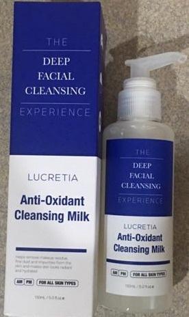 Lucretia Anti-Oxidant Cleansing Milk