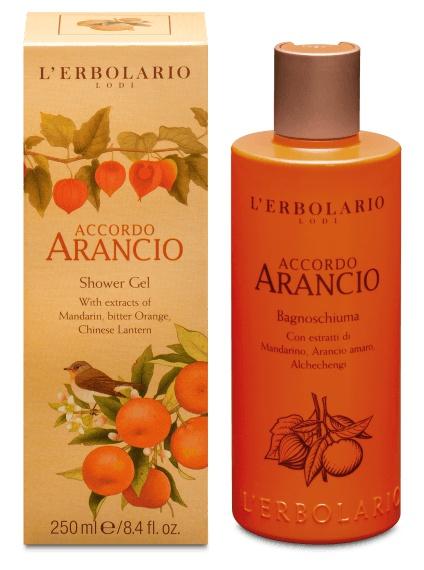 L'Erbolario Shower Gel Accordo Arancio