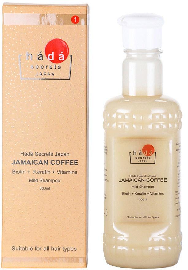 Hada Secrets Japan Jamaican Coffee Shampoo
