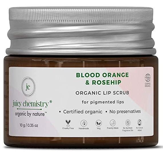 juicy chemistry Blood Orange And Rosehip Oil Lipbalm
