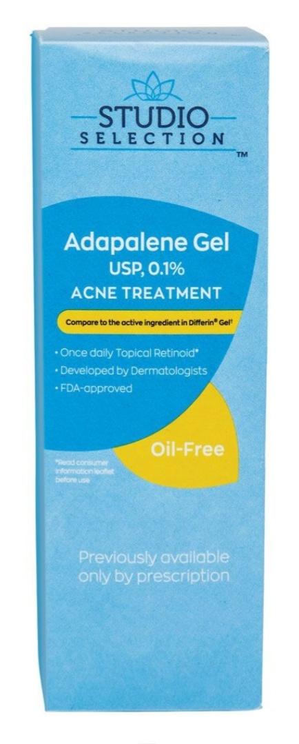 Studio Selection Adapalene Gel Usp, 0.1% Acne Treatment