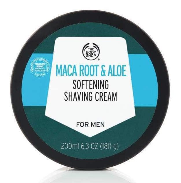 The Body Shop Maca Root And Aloe Softening Shaving Cream