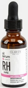Clara's New York Moisturizing Rosehip Facial Oil Serum