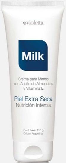 Violetta Milk Crema Para Manos