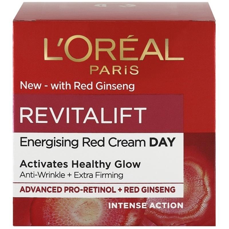 L'Oreal Revitalift Energising Red Cream
