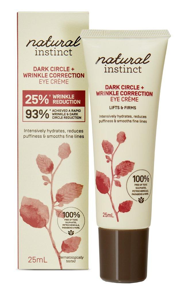 Natural Instinct Dark Circle + Wrinkle Correction Eye Creme