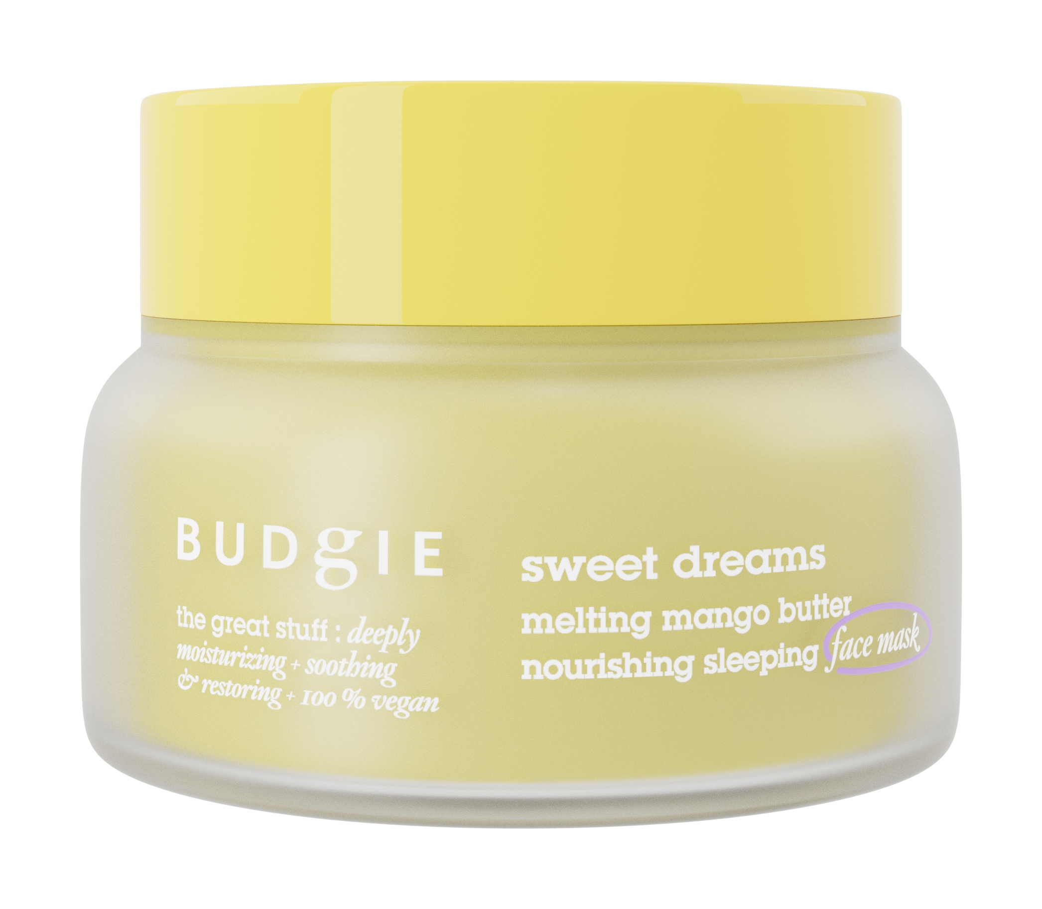 Budgie Sweet Dreams Nourishing Overnight Mask