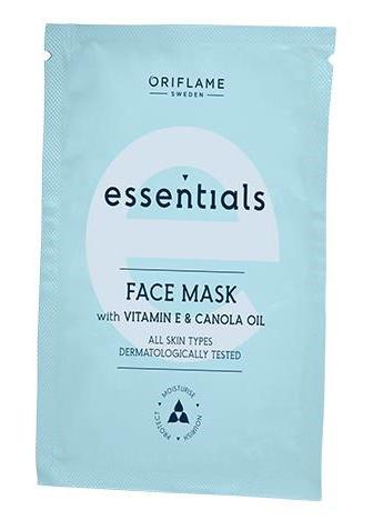 Oriflame Essentials Face Mask With Vitamin E & Canola Oil