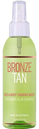 Bronze Tan Face Tanning Water