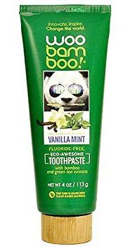 Woobamboo Vanilla Mint Fluoride Free Vegan Toothpaste