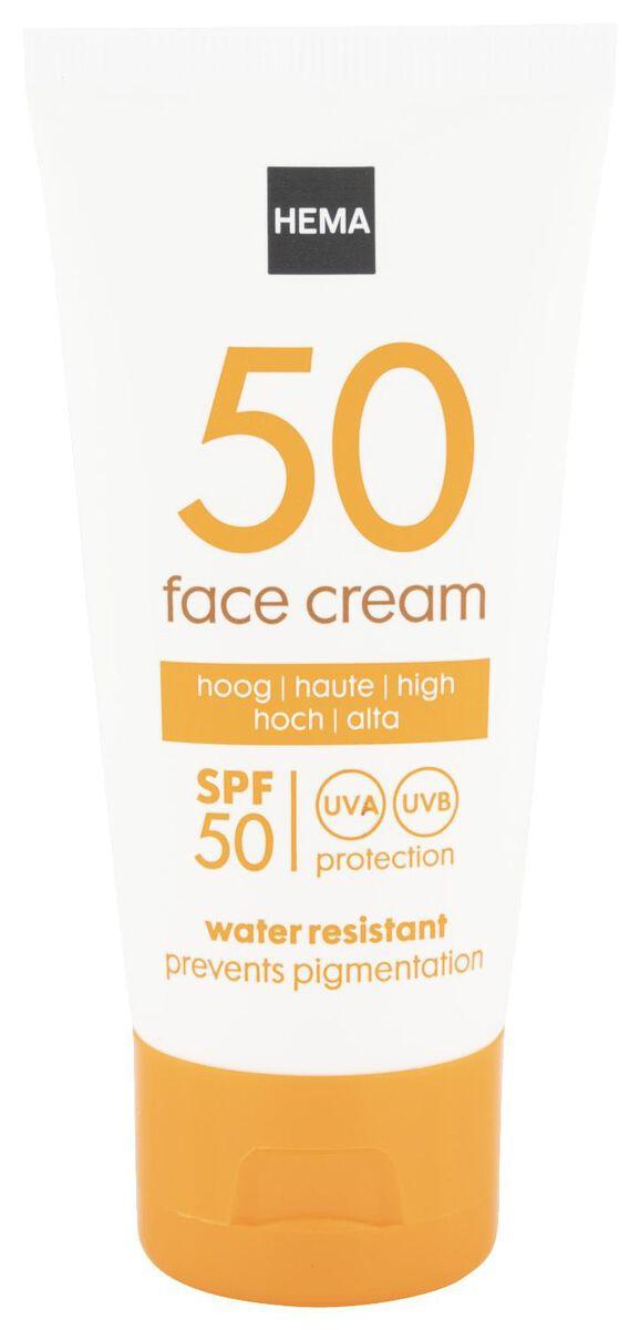 Hema Face Sun Cream Anti Pigmentation Spf 50 -